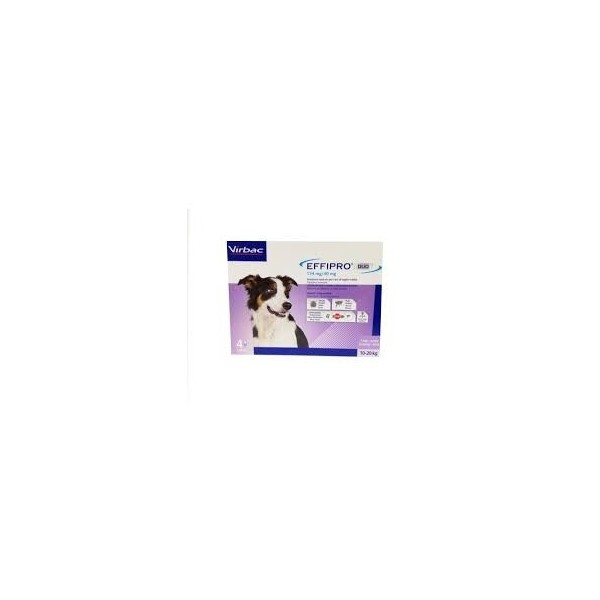 EFFIPRO DUO CANI 10-20 KG 4 PIPETTE SPOT-ON