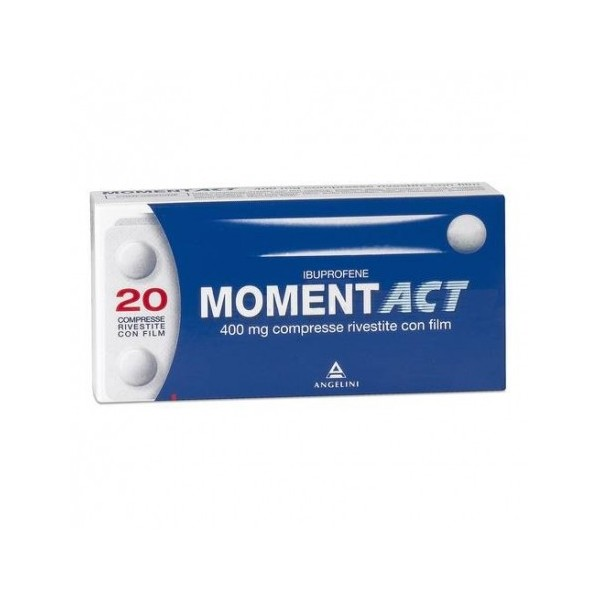 MOMENTACT 20 COMPRESSE RIVESTITE 400 MG