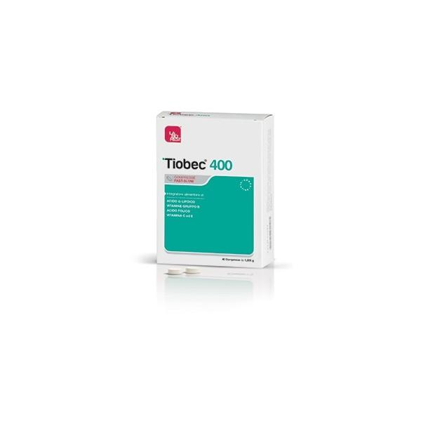 TIOBEC 400 40 COMPRESSE FAST-SLOW