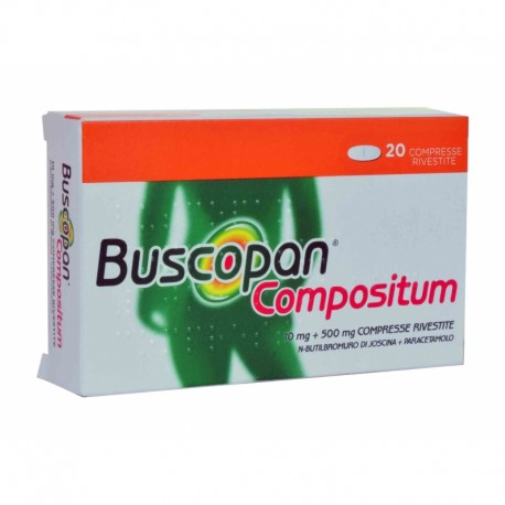 BUSCOPAN COMPOSITUM 20 COMPRESSE
