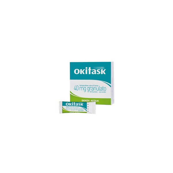 OKITASK 20 BUSTINE 40 MG