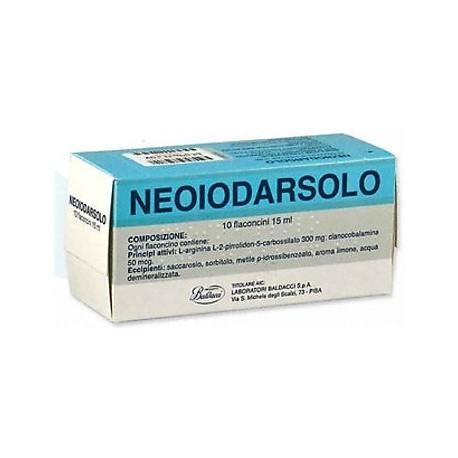 NEOIODARSOLO 10 FLACONCINI 15 ML