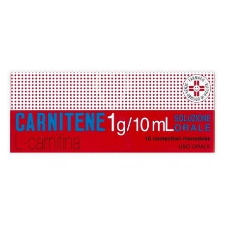 CARNITENE 10 FLACONCINI 1 GR