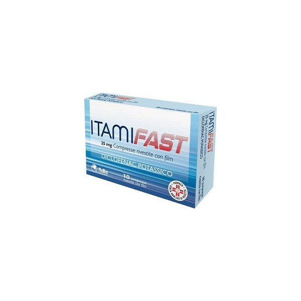 ITAMIFAST 10 COMPRESSE 25 MG