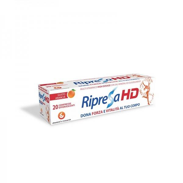 RIPRESA HD 20 COMPRESSE EFFERVESCENTI