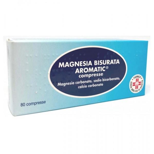 MAGNESIA BISURATA AROMATIC 80 COMPRESSE