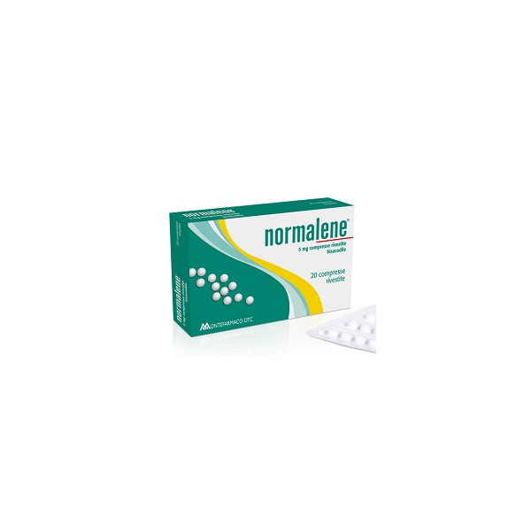 NORMALENE 20 COMPRESSE RIVESTITE 5 MG