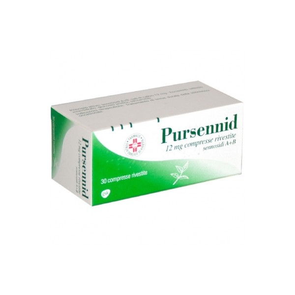 PURSENNID 30 COMPRESSE RIVESTITE 12 MG