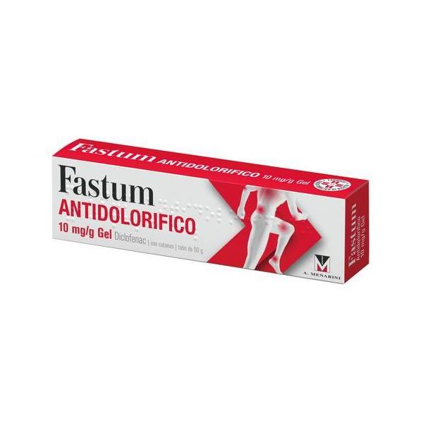 FASTUM ANTIDOLORIFICO GEL 50 GR 1%