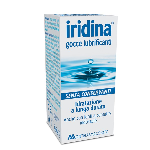 IRIDINA GOCCE LUBRIFICANTI 10 ML