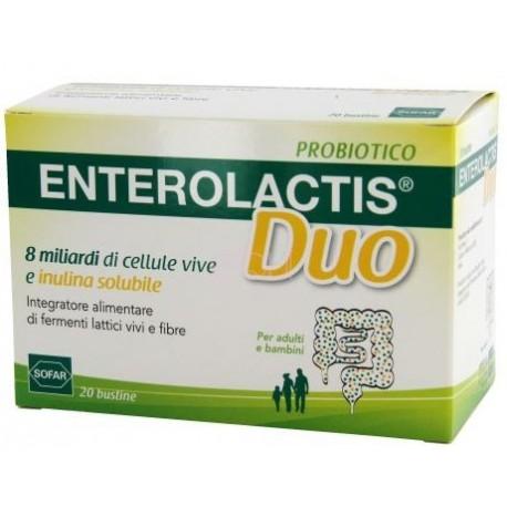 ENTEROLACTIS DUO 20 BUSTINE