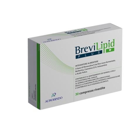BREVILIPID PLUS 30 COMPRESSE  -  SCAD. 02-2019
