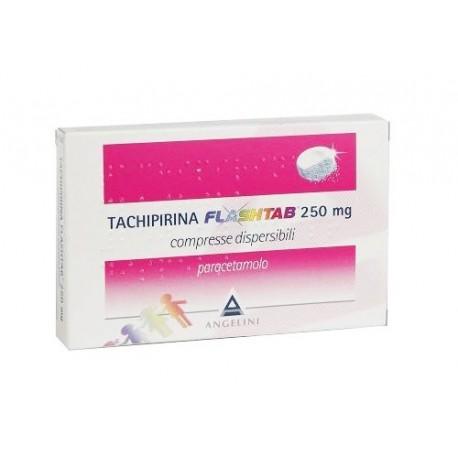 TACHIPIRINA FLASHTAB 12 COMPRESSE 250 MG