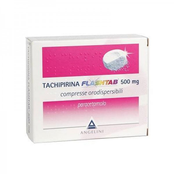 TACHIPIRINA FLASHTAB 16 COMPRESSE 500 MG