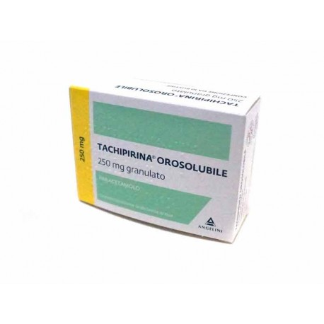 TACHIPIRINA OSOSOLUBILE 10 BUSTINE 250 MG