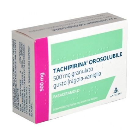 TACHIPIRINA OSOSOLUBILE 12 BUSTINE 500 MG - Farmacia Fornari Dott. Yari