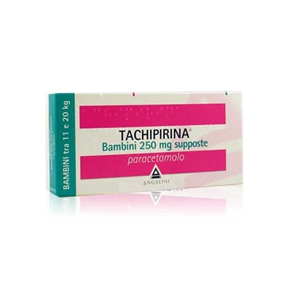 TACHIPIRINA BAMBINI 10 SUPPOSTE 250 MG