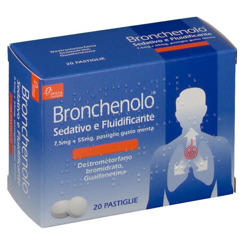 Bronchenolo Sedativo-e Fluidificante - 100 ml of the syrup contain