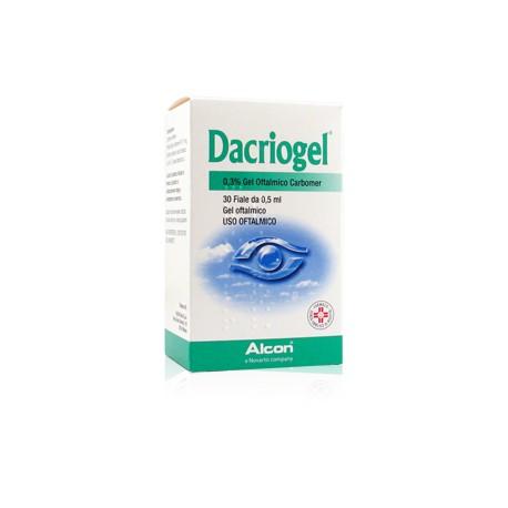 DACRIOGEL GEL 30 FIALETTE 0,5 ML 0,3 %