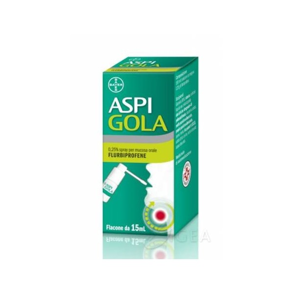 ASPI GOLA SPRAY 15 ML 0,25 %