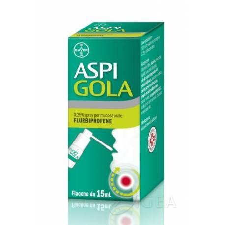 ASPI GOLA SPRAY 15 ML 0,25 %