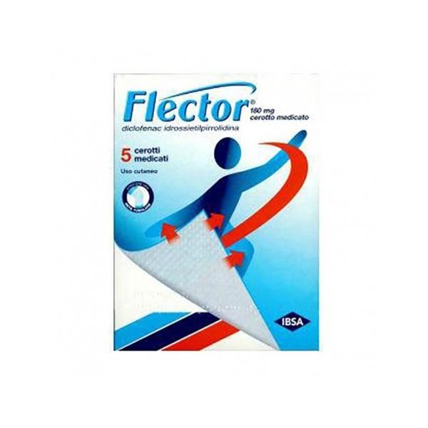 FLECTOR 5 CEROTTI MEDICATI 180 MG