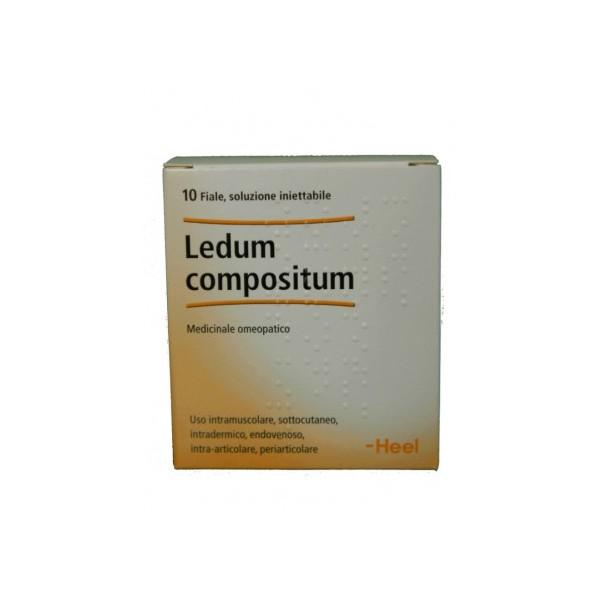 LEDUM COMPOSITUM 10 FIALE 2,2 ML HEEL