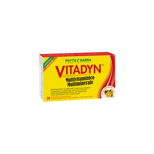 VITADYN MULTIVITAMINICO MULTIMINERALE 30 COMPRESSE EFFERVESCENTI