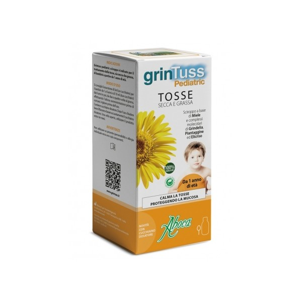 GRINTUSS PEDIATRIC SCIROPPO 180 GR