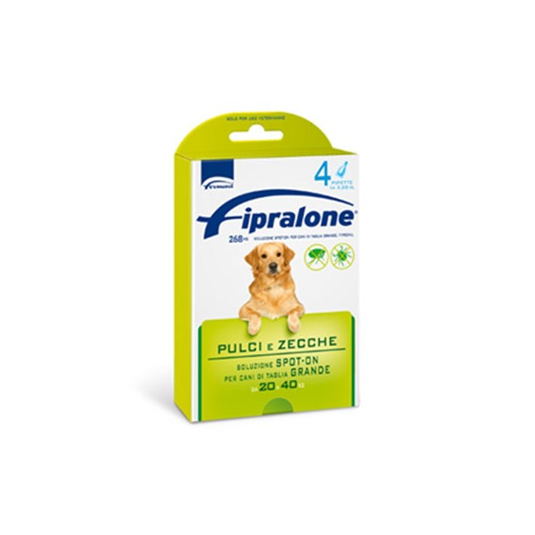 FIPRALONE SPOT-ON CANI 20-40 KG  4 PIPETTE 2,68ML   EX-FIPROLINE