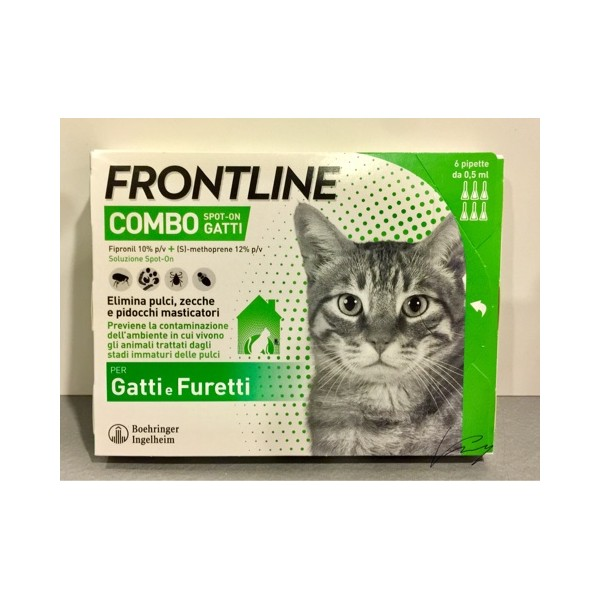 FRONTLINE COMBO GATTI SPOT-ON 6 PIPETTE
