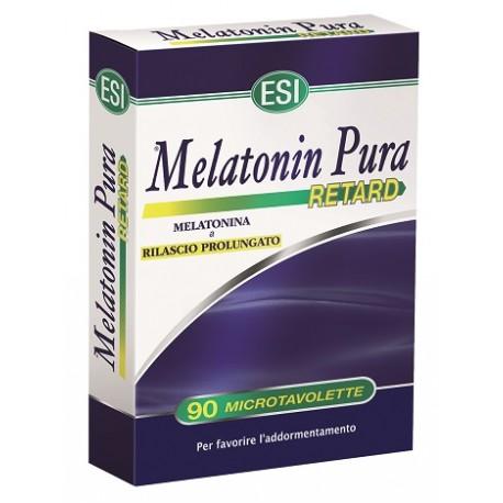 MELATONIN RETARD 90 MICROTAVOLETTE - MELATONINA A RILASCIO PROLUNGATO0