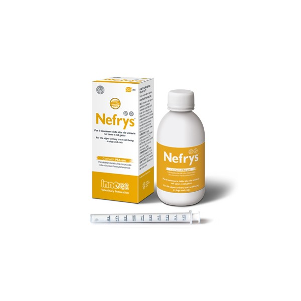 NEFRYS 200 ML CON SIRINGA DOSATRICE