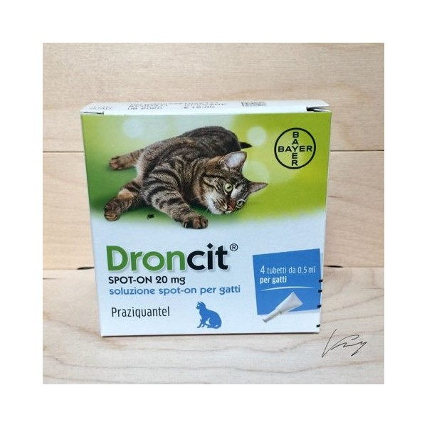 DRONCIT SPOT ON 4 TUBETTI 0,5ML