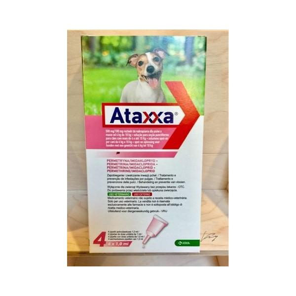 ATAXXA SPOT-ON 4 PIPETTE 1 ML 4-10 KG  - EQUIVALENTE ADVANTIX
