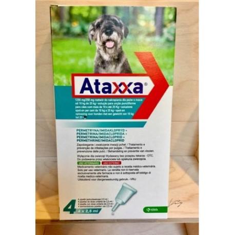 ATAXXA SPOT-ON 4 PIPETTE 2,5 ML  10-25 KG  - EQUIVALENTE ADVANTIX