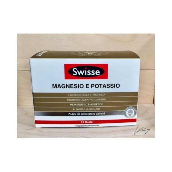 SWISSE MAGNESIO E POTASSIO 24 BUSTINE