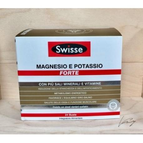 SWISSE MAGNESIO E POTASSIO FORTE 24 BUSTINE