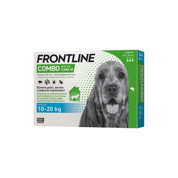 FRONTLINE COMBO SPOT ON 3 PIP CANI 10-20 KG