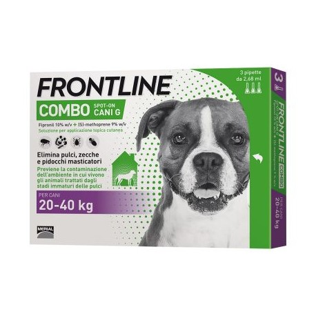 FRONTLINE COMBO SPOT ON 3 PIP CANI 20-40 KG