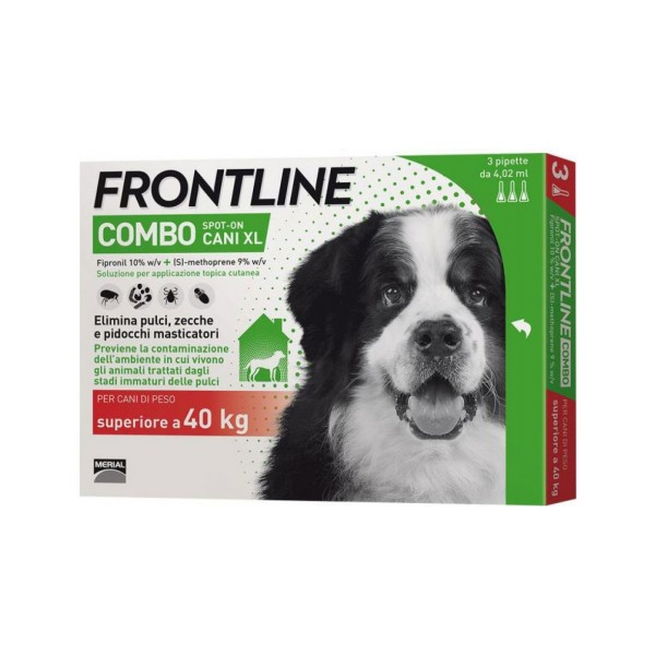 FRONTLINE COMBO SPOT ON 3 PIP CANI 40-60 KG