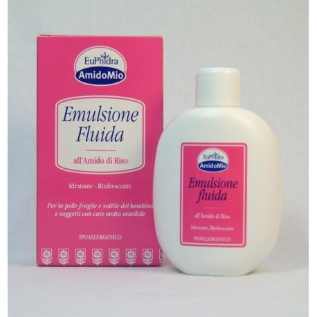 EUPHIDRA AMIDOMIO  EMULSIONE FLUIDA IDRATANTE 200 ML