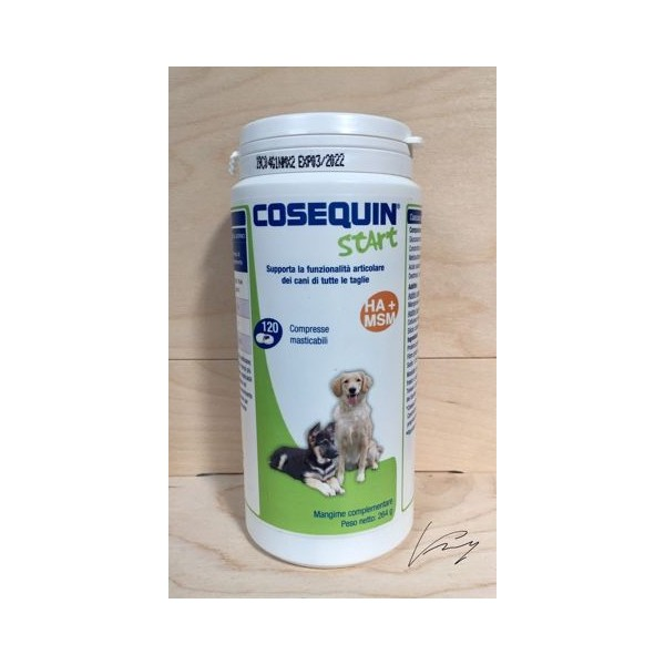 COSEQUIN START 120 COMPRESSE - THERAPET-  SCAD. 07-2021