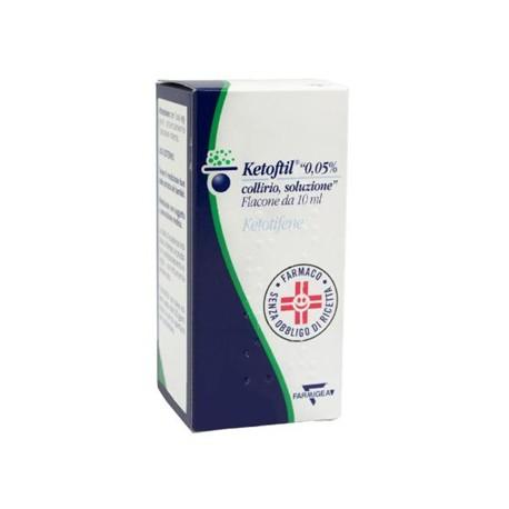 KETOFTIL COLLIRIO FLACONE 10 ML 0,5 MG/ML