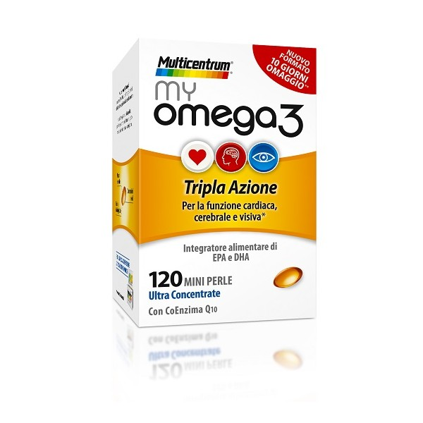 MULTICENTRUM MY OMEGA 3 120 PERLE