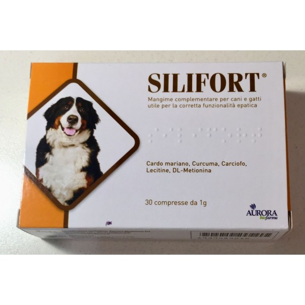 SILIFORT 30 COMPRESSE 1 GR