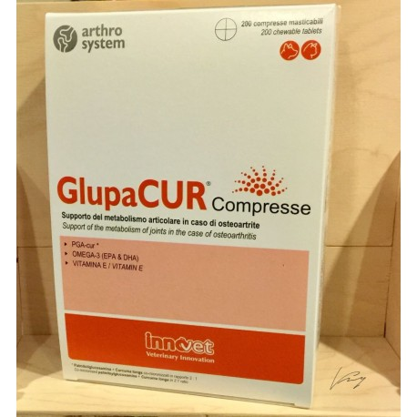 GLUPACUR 200 COMPRESSE