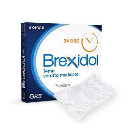 BREXIDOL 8 CEROTTI MEDICATI 14 MG