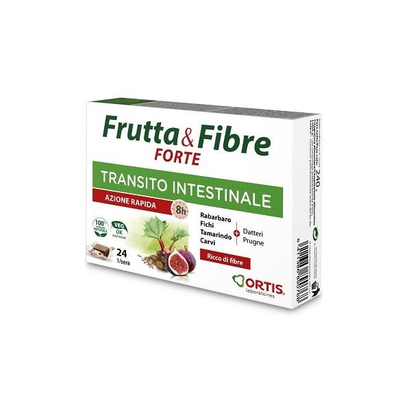 FRUTTA & FIBRE FORTE 24 CUBETTI