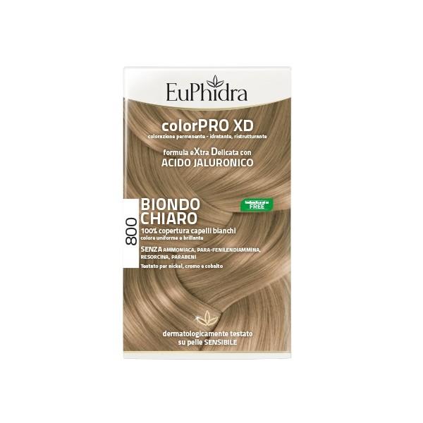 EUPHIDRA TINTA COLORPRO XD 800 BIONDO CHIARO